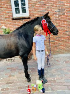 Reiten lernen Hof Reil Ponyreiten Wardenburg
